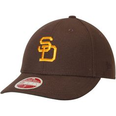 San Diego Padres New Era Cooperstown Collection Vintage Fit 59FIFTY Fitted Hat - Brown
