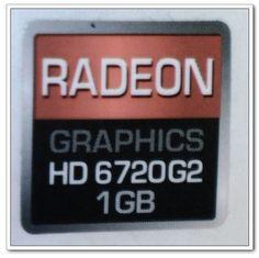 "ATI RADEON GRAPHICS HD 6720G2 1GB Logo Stickers Badge for Laptop and Desktop Case -15000003 by ATI. $0.99. ATI RADEON GRAPHICS HD 6720G2 1GB Logo Stickers Badge for Laptop and Desktop Case -15000003   Color :    RED+ BLACK  ATI RADEON GRAPHICS HD 6720G2 1GB Logo Stickers Badge for Laptop and Desktop Case -15000003 Dimension: 5/8"" X 5/8 ""  (wide x high). Save 50%!"
