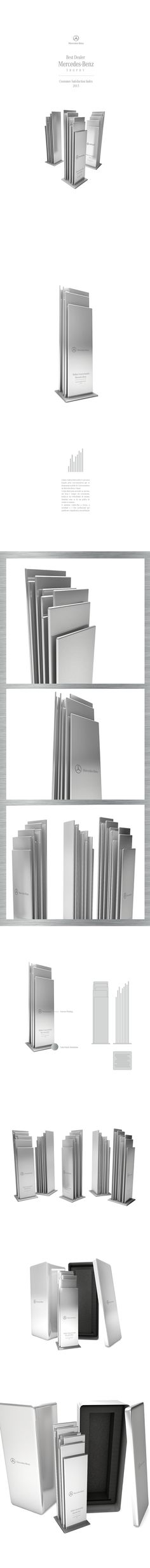 Mercedes-Benz · Best Dealer Trophy on Behance