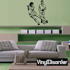 Soccer Wall Decal - Vinyl Decal - Car Decal - Bl161
