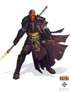 ArtStation - Star Wars: Edge of the Empire - Morgukai Warrior, David Kegg