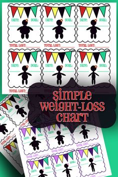 Simple Weight Loss Goal Chart