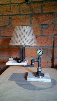 Купить Лампа StesmPunk2 - лампа, лофт, интерьер, стиль, светильник, скидка, комфорт, дерево, сталь