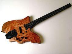Ergonomic Baritone Guitar Full