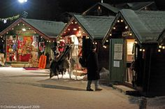 Sirkka winter market. (Sirkka is the official name of the town at the foot of Levi fell, Lapland's best-known and largest winter-sports resort.)