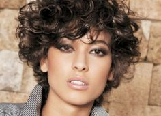 Short Hairstyles For Curly Hair Fascinating 30 Curly Short Hairstyles For Womens  Pinterest  Curly Short