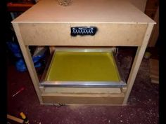Home Built - Dark Air Flow Screen Drying Rack - Sku Style - Screen Printing