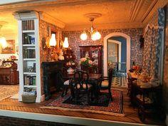 Fairfield Dollhouse 1:24 scale - Dinning Room