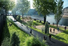 PARIS PUSHES FOR CAR-FREE RIVER SEINE QUAYSIDE PARK AS ANTI-POLLUTION MEASURES TIGHTEN