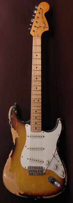 1973 Fender Stratocaster-sUNBURST