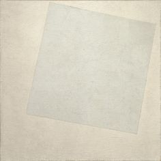 Kazimir Malevich  'White On White'  1918  *