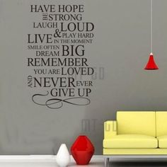 Love do Instant Home Decor Quote Wall Stair Sticker Decal Sheet Vinyl Art   eBay
