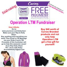 Get a freebie while helping  Operation LTM : KJDeiter  How it Works  Go to: www.youravon.com/kellyolsen  make sure your rep is Kelly Olsen!  Buy anything and everything you want! Then Email or FB Message me your Order # and LTM. Proceeds of this fundraiser will go to help this awesome cause!  Avon Rep Kelly Olsen (FB  Avon with Kelly)  Avonwithkelly12@aol.com