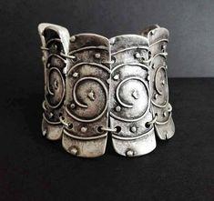 Antique Silver, Antique Jewelry, Silver Jewelry, Tribal Bracelets, Cuff Bracelets, Boho Chic, Bohemian, Silver Plate, Shapes