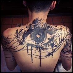 50 Amazing Blackwork #Tattoos http://www.tattoosmob.com