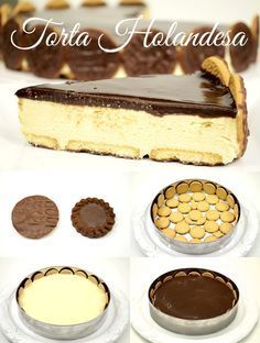 Torta holandesa de Isamara - Ideas (i will organize this once school is over) - Tortas Sweet Recipes, Cake Recipes, Dessert Recipes, Yummy Cakes, Chocolate Recipes, Just Desserts, Love Food, Food And Drink, Yummy Food
