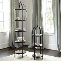 Aviary birdcage decorative shelf by ballard designs gray pinterest decorative shelves for Exquisite kitchen design south lyon
