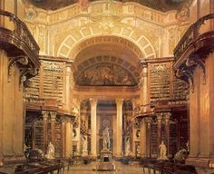 Austria's National Library (1493), Vienna, Austria