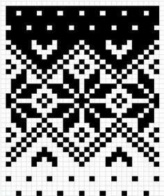 20 Ideas knitting charts free fair isles tapestry crochet – Oh, les rues de France! Fair Isle Knitting Patterns, Fair Isle Pattern, Knitting Charts, Knitting Stitches, Knitting Designs, Double Knitting Patterns, Crochet Chart, Crochet Patterns, Tejido Fair Isle