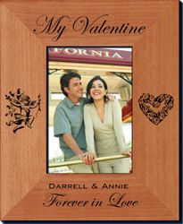 Personalized Valentine Photo Frame - Always FREE engraving. FAST shipping. Starting at $24.26