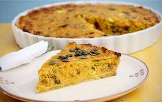 Tekvicový quiche Quiche, Banana Bread, Vegetarian Recipes, Desserts, Food, Basket, Tailgate Desserts, Deserts, Quiches