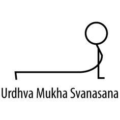 Urdhva Mukha Svanasana – Upward Facing Dog Yoga Sequences, Yoga Poses, Yoga Stick Figures, Yoga Drawing, Upward Facing Dog, Bookmark This Page, Yoga Journal, Iyengar Yoga, Body Love
