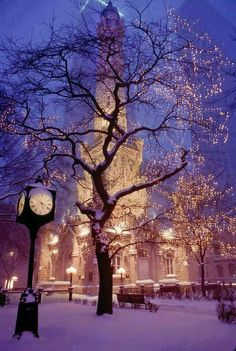 Chicago Winter Twilight