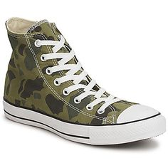 Converse ALL STAR CAMO PRINT HI Camouflage vert  http://www.spartoo.com/Converse-ALL-STAR-CAMO-PRINT-HI-x174949.php