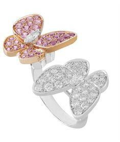 Exclusive Van Cleef Arpels | Mariposas en libre vuelo: Two Butterfly Jewelry Collection