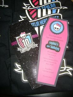 Monster High Invite