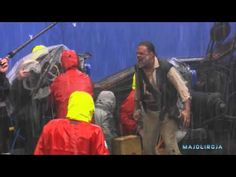 The cast of Pirates of the Caribbean describe their experience filming the maelstrom scene from At World's End.