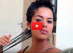 Fitagem é a técnica mais usada pela blogueira Rayza Nicácio para definir os cachos. Aqui ela ensina como é fácil repetir o processo em casa. Veja e aprenda!