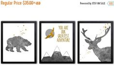 Hey, I found this really awesome Etsy listing at https://www.etsy.com/listing/230948304/nursery-art-for-boys-gold-bear