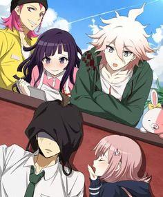 Mikan / Souda / Komada Nagito / Ahime Hinata / Nanami Chiaki