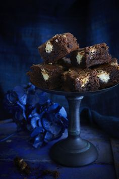 Best ever fudge brownies with sour cherries and white chocolate chunks