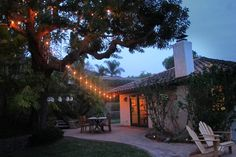 The Chandelier Tree - a warm oasis - vacation rental in Santa Barbara, California. View more: #SantaBarbaraCaliforniaVacationRentals