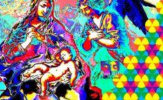 Digital Art - Fredo Lima: ARTE DIGITAL - Pop Art - Técnica Irisar