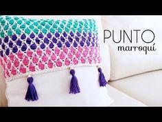 PUNTO MARROQUÍ A CROCHET | tutorial paso a paso - YouTube