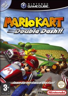 "VG Facts: There's an error on both the PAL and US box art of Mario Kart: Double Dash which displays the ""L"" on Luigi's cap as being backwards Read more at http://www.vgfacts.com/trivia/2208/"