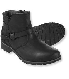 Women's Teva De La Vina Leather Ankle Boots waterproof comes in brown