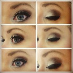browns, grays & gold eyeshadow makeup from urban decay naked 2