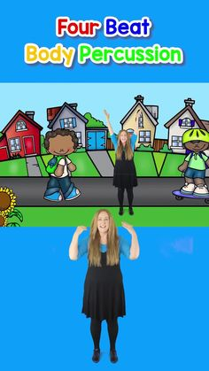 """Elementary music class starts off in an engaging and fun way using Hello Songs and Body Percussion. Try this fun action song """"Everybody Say Hello"""" Body Percussion activity. #bodypercussion #bodypercussionactivity #elementarymusic #elementarymusicteacher #hellosongs #singplaycreate #backtoschoolsong Kindergarten Music Lessons, Teaching Music, Music Ed, Music Games, Action Songs, School Games, Class Activities, Elementary Music, Music Classroom"""