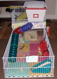 Use cute stickers or decals on the coroplast to for Coroplast guinea pig cage for sale