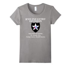 2nd Infantry Division - Infantry- Veterans- Army T-Shirt