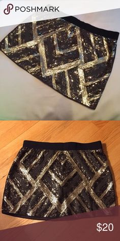 Sequin skirt As shown :) authentic icon Skirts