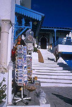 Café des Nattes, Sidi Bou Said, Túnez