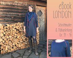 Ebook Damen Raglankleid London (Gr. 34-46) |