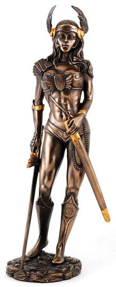 Legendary figures of Norse legend, the Valkyrie were the maidens of Valhalla, the legendary hall of Odin. Led by Freyja, they were said to descend to the fields of battle, choosing half of those who h