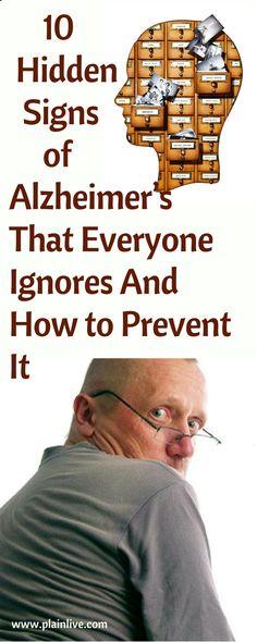 10 Hidden Signs of Alzheimer's That Everyone Ignores – And How to Prevent It ! 10 Hidden Signs of Alzheimer's That Everyone Ignores – And How to Prevent It ! Alzheimer Care, Dementia Care, Alzheimer's And Dementia, Dementia Symptoms, Signs Of Alzheimer's, Alzheimer's Prevention, Signs Of Dementia, Dementia Activities, Elderly Activities