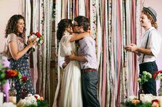 Colorful Vintage Boho Wedding Inspiration #w101nashville #fromproposaltopromise #Bohowedding #everylastdetail